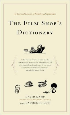 The Film Snob's Dictionary Cover