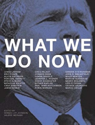 What We Do Now Cover Image