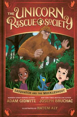 Sasquatch and the Muckleshoot (The Unicorn Rescue Society #3) Cover Image