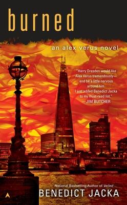 Burned (An Alex Verus Novel #7) Cover Image