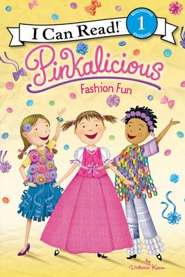Pinkalicious: Fashion Fun (I Can Read Level 1) Cover Image