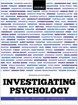 Investigating Psychology: Key Concepts, Key Studies, Key Approaches Cover Image
