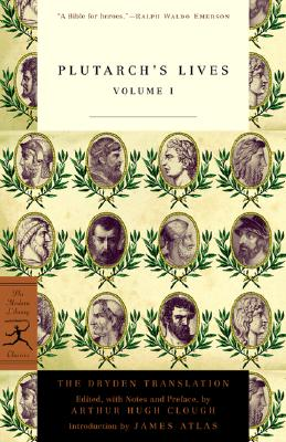 Plutarch's Lives, Volume 1 Cover