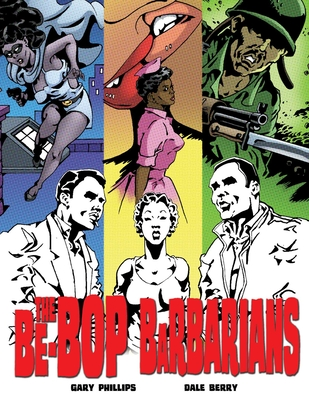 The Be-Bop Barbarians: A Graphic Novel Cover Image