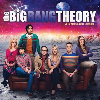 Cal-2021 the Big Bang Theory Wall Cover Image