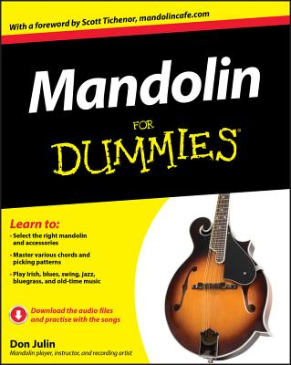 Mandolin for Dummies Cover Image