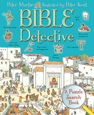 Bible Detective: A Puzzle Search Book Cover Image