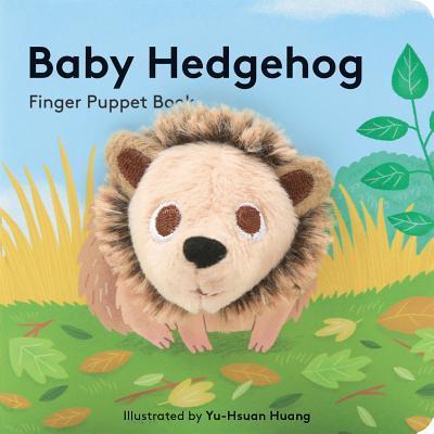 Baby Hedgehog: Finger Puppet Book Cover Image