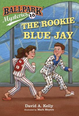 Ballpark Mysteries #10: The Rookie Blue Jay Cover Image