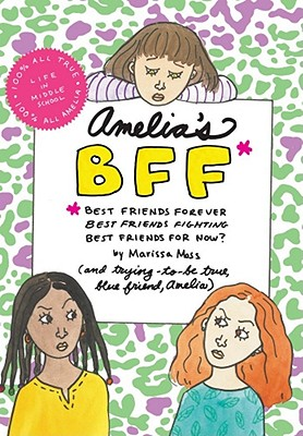 Amelia's BFF Cover