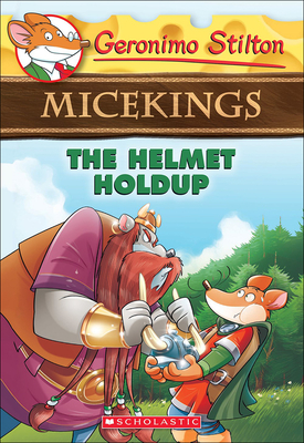 Helmet Holdup (Geronimo Stilton Micekings #6) Cover Image