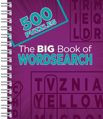 The Big Book of Wordsearch: 500 Puzzles Cover Image