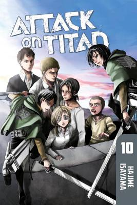 Attack on Titan 10 Cover