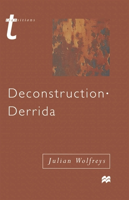 Cover for Deconstruction - Derrida (Transitions)