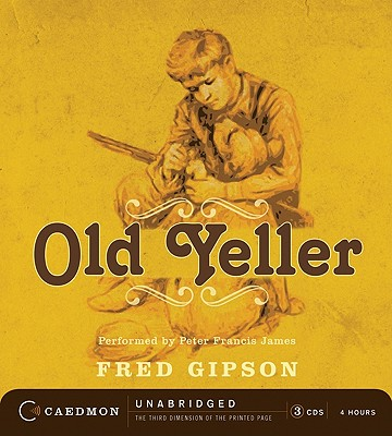 Old Yeller Cd Cd Audio The Reading Bug