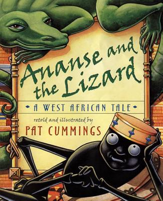 Ananse and the Lizard Cover