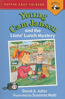 Young Cam Jansen and the Lions' Lunch Mystery Cover Image