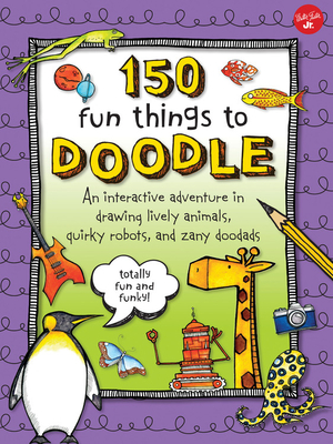 150 Fun Things to Doodle Cover