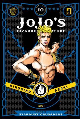 JoJo's Bizarre Adventure: Part 3--Stardust Crusaders, Vol. 10 (JoJo's Bizarre Adventure: Part 3--Stardust Crusaders #10) Cover Image