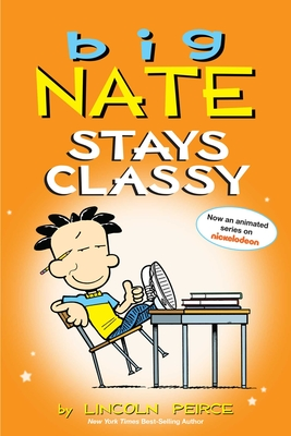Big Nate Stays Classy Cover Image