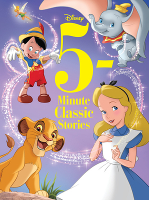 5-Minute Disney Classic Stories (5-Minute Stories) Cover Image