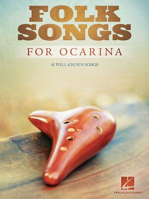 Folk Songs for Ocarina Cover Image