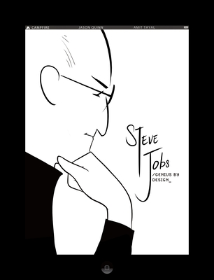Steve Jobs: Genius by Design: Campfire Biography-Heroes Line Cover Image