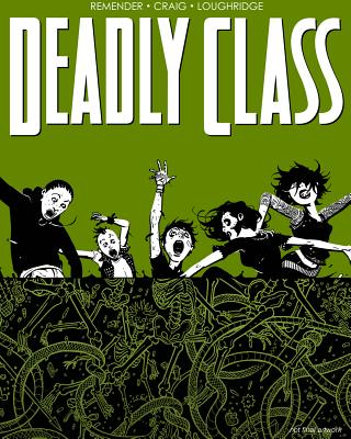 Deadly Class Volume 3 cover image