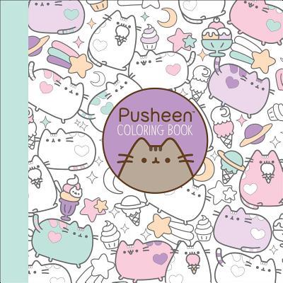 Pusheen Coloring Book (A Pusheen Book) Cover Image