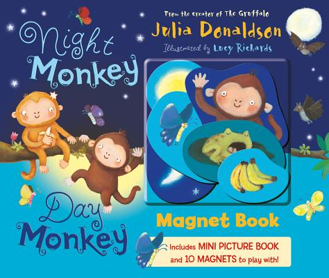 Night Monkey, Day Monkey Magnet Book Cover Image