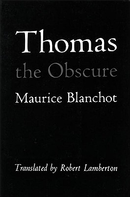 Thomas the Obscure Cover