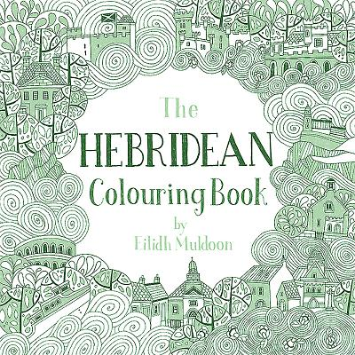 The Hebridean Colouring Book Cover Image