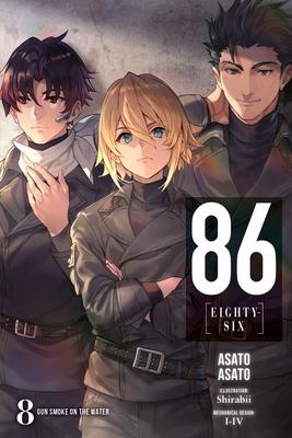86--EIGHTY-SIX, Vol. 8 (light novel): Gun Smoke on the Water (86--EIGHTY-SIX (light novel) #8) Cover Image