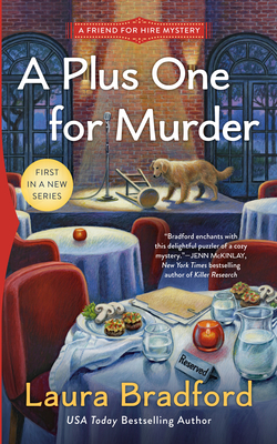 A Plus One for Murder (A Friend for Hire Mystery #1) Cover Image