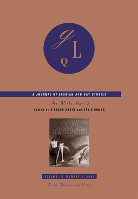 Art Works: Part 2 (Journal of Lesbian and Gay Studies #12) Cover Image