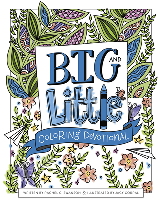 Cover for Big and Little Coloring Devotional