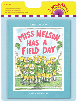 Miss Nelson Has a Field Day book and CD Cover Image