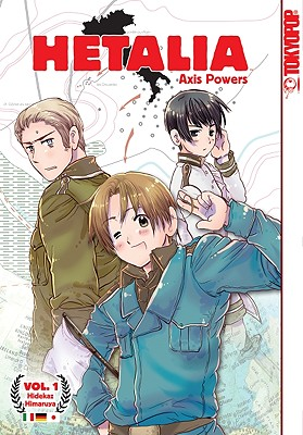 Hetalia Axis Powers, Volume 1 Cover