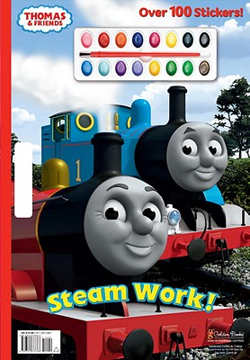 Steam Work! (Thomas & Friends) Cover Image