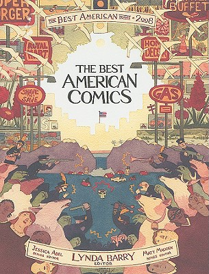 The Best American Comics 2008 Cover