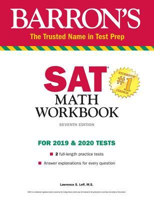 Barron's SAT Math Workbook (Barron's Test Prep) Cover Image