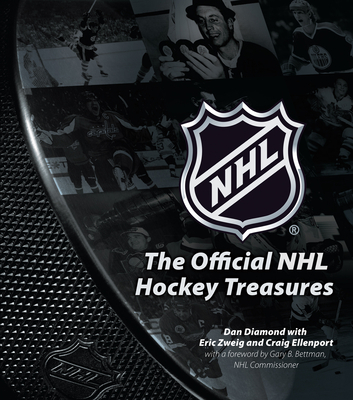 The Official NHL Hockey Treasures Cover Image