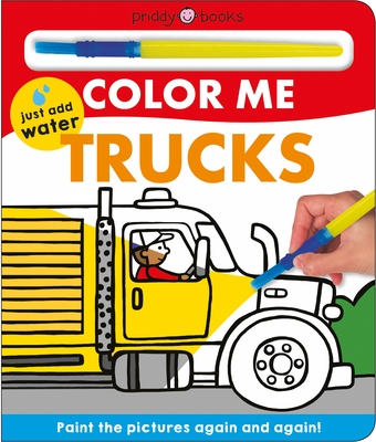 Color Me: Trucks Cover Image