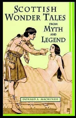 Wonder Tales from Scottish Myth and Legend illustrated cover
