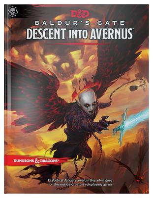 Dungeons & Dragons Baldur's Gate: Descent Into Avernus Hardcover Book (D&D Adventure) Cover Image