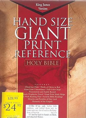 Giant Print Reference Bible-KJV Cover