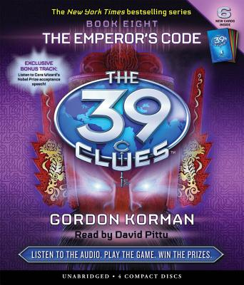 The 39 Clues #8: The Emperor's Code - Audio Cover Image
