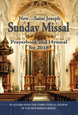 St. Joseph Sunday Missal and Hymnal for 2018 Cover Image