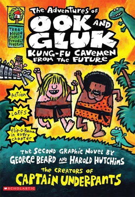 The Adventures of Ook and Gluk, Kung-Fu Cavemen from the Future Cover