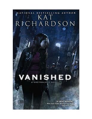 Vanished: A Greywalker Novel Cover Image